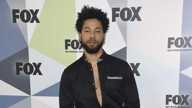 Jussie Smollett alleges he was the victim of an attack on January 29 (Photo by Evan Agostini/Invision/AP, File)