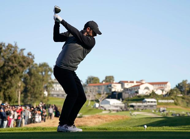 Holmes claims wild Genesis Open win as putter deserts Thomas