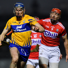 A disallowed point caused controversy during Cork vs Clare. Photo by Piaras Ó Mídheach/Sportsfile