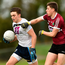 Luke Fortune of UCD in action against Aaron Duffy of St Mary's University. Photo by Matt Browne/Sportsfile