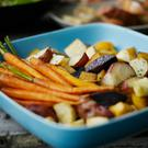 The research team said roasting vegetables was particularly bad for indoor pollution levels because cooks often aimed for a charring or blackening effect. Stock: Getty Images