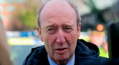 Shane Ross: Transport Minister was questioned over insurance. Photo: Gareth Chaney, Collins