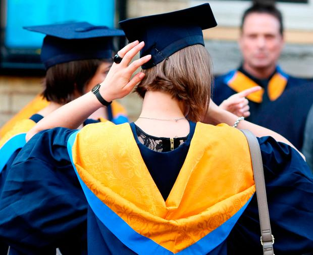 It also shows that the gender pay gap remains an issue for graduates, with a difference of almost €4,000 recorded between young men's and women's pay. Stock Image: PA
