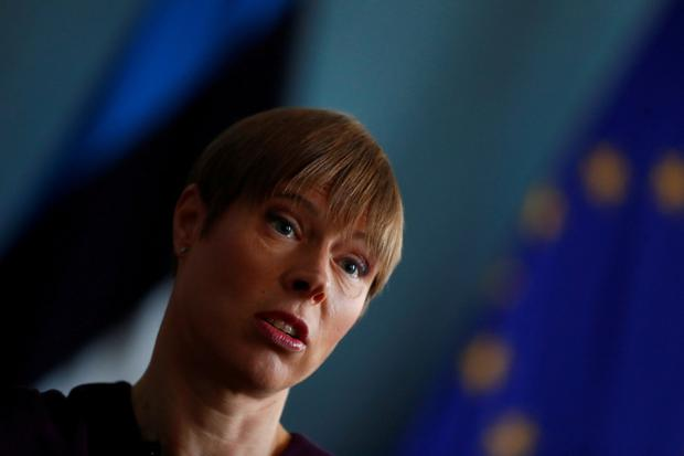 Estonian President Kersti Kaljulaid. Photo: REUTERS/Ints Kalnins