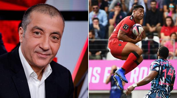Mourad Boudjellal (left) believes Julian Savea should apologise for his form and leave Toulon