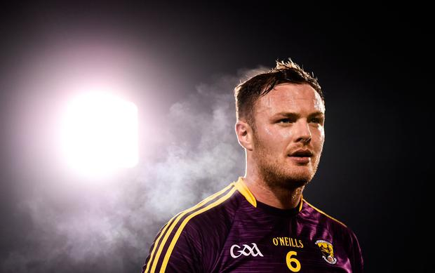 Matthew O'Hanlon is hoping that he and his Wexford team-mates can build on the momentum created by Sunday's narrow league win over Tipperary. Photo: Sportsfile