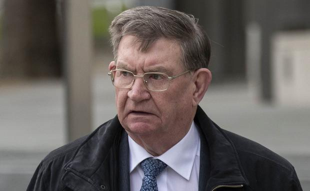 John Gibson was convicted of assaulting a boy and girl. Photo: Collins Courts