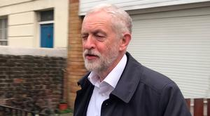 'Disappointed': Jeremy Corbyn. Picture: PA