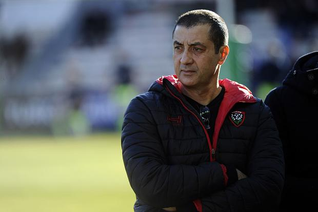 RC Toulon's French president Mourad Boudjellal. Photo: AFP/Getty Images