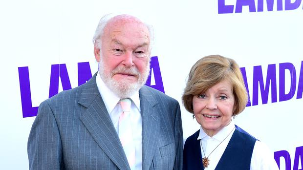 Timothy West and his wife Prunella Scales (PA)
