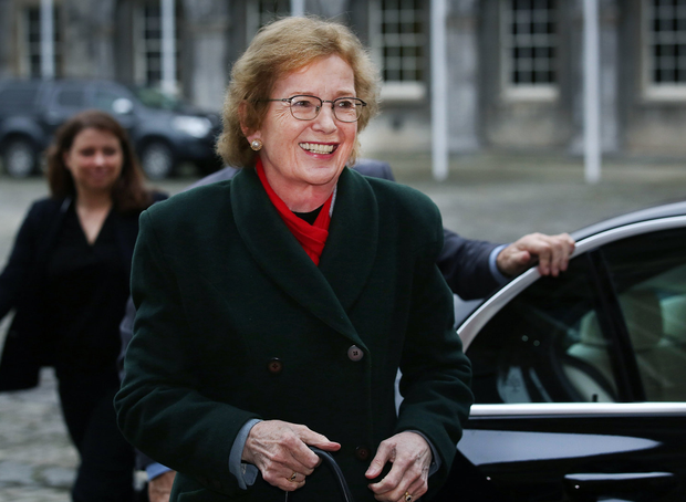 Mary Robinson says she gave a full account to the UN. Picture: Steve Humphreys