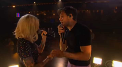 Niall Horan and Julia Michaels duet on The Late Late Show with James Corden