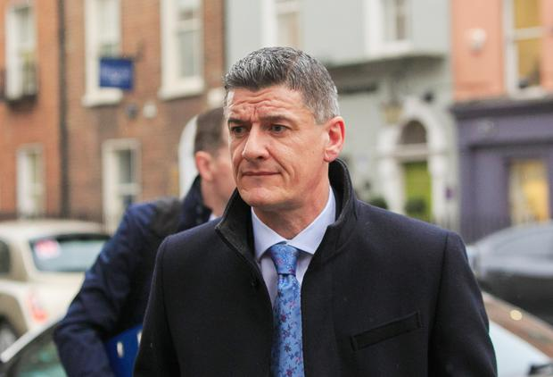 Ian Drennan the head of the Office of the Director of Corporate Enforcement (ODCE ) arriving at Leinster House, Dublin for a Joint Committee meeting on Business, Enterprise & Innovation .Photo: Gareth Chaney / Collins Photos