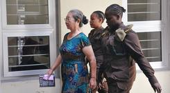 Chinese businesswoman Yang Feng Glan, dubbed the