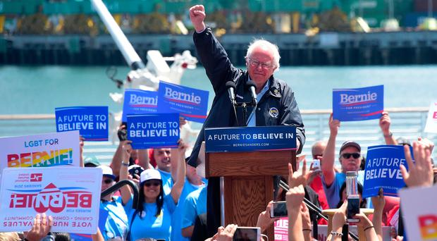 Sanders launches 2020 White House bid with attack on 'racist' Trump
