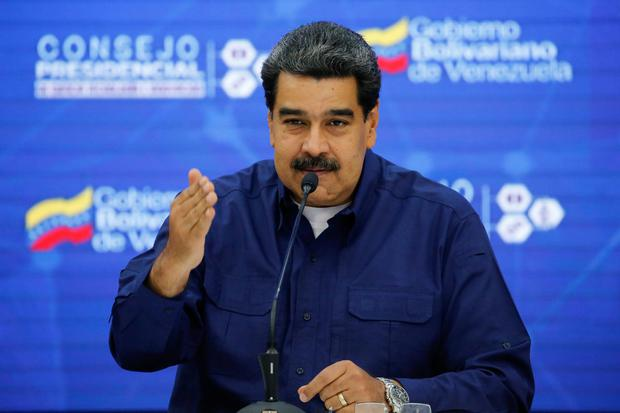 Defiant: President Nicolas Maduro is refusing to stand down in Venezuela despite international pressure and domestic opposition. Photo: REUTERS