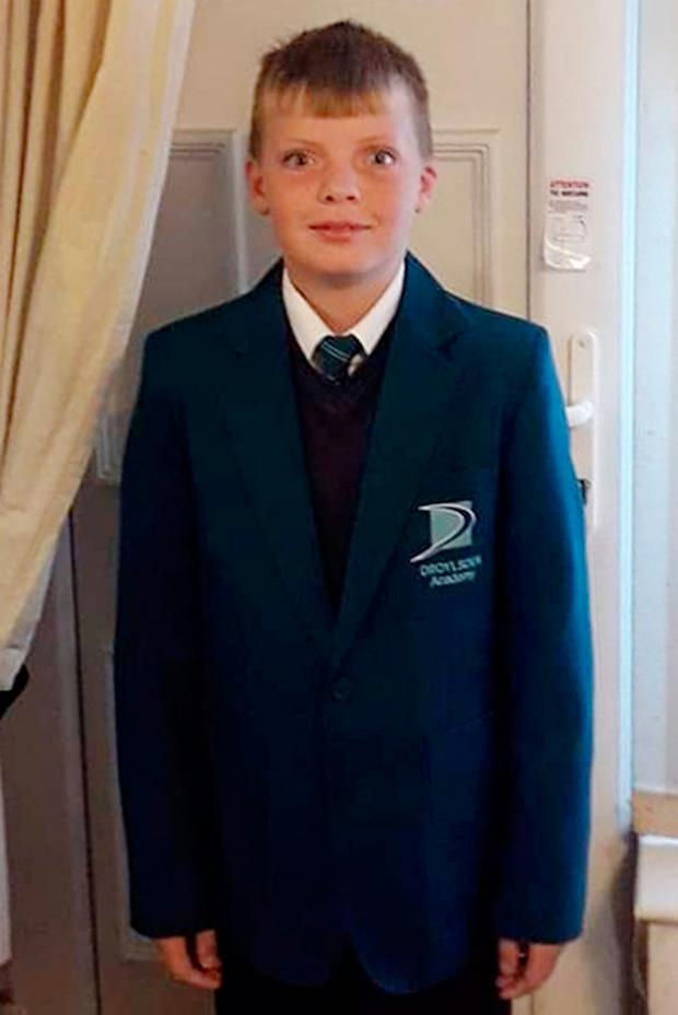11-year-old Taylor Schofield Photo credit: Greater Manchester Police/PA Wire