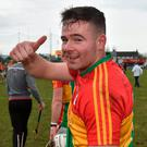 Carlow's Martin Kavanagh. Photo: Matt Browne/Sportsfile