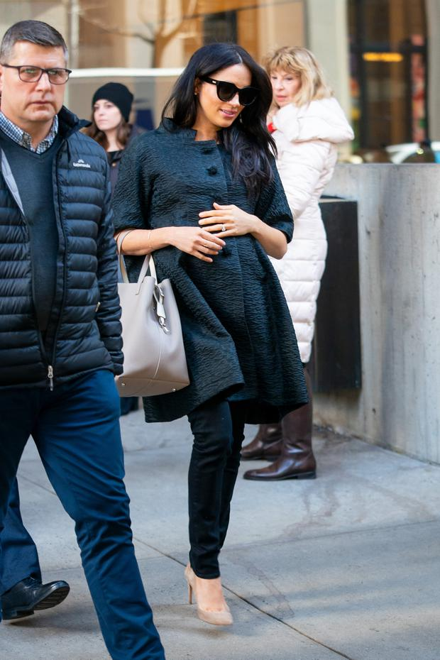 Meghan, Duchess of Sussex is seen in the Upper East Side on February 19, 2019 in New York City. (Photo by Gotham/GC Images)
