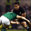 Julian Savea of New Zealand is tackled by Andrew Trimble at the Aviva in 2016