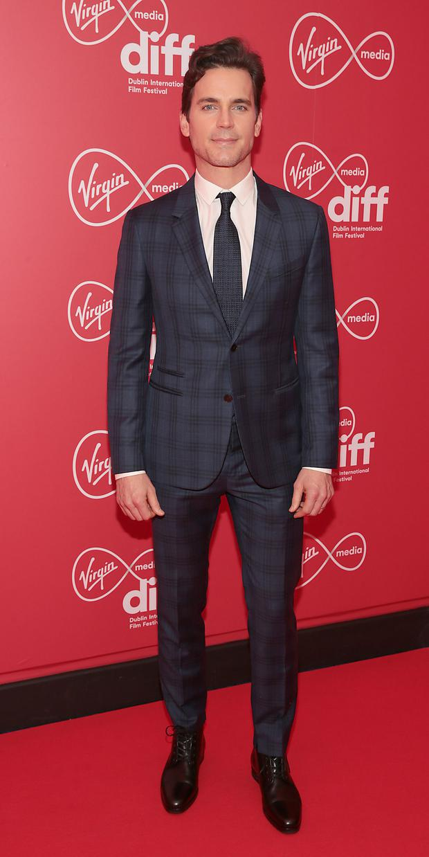 Matt Bomer at the premiere of Papi Chulo, the opening gala of the Virgin Media Dublin International Film Festival 2019 at Cineworld, Dublin. Picture: Brian McEvoy