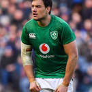 Quinn Roux of Ireland during the Guinness Six Nations Rugby Championship match between Scotland and Ireland