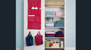 Is there anything more pleasing in life than an organised cupboard of ironed towels and linen?