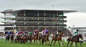 A general view of Cheltenham, where all the top horses will converge next month