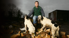 Sean O'Brien, pictured at his farm in Tullow