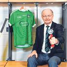 Eamonn 'Ned' Rea, a hero of Limerick's 1973 team and a TILDA Ambassador, is impressed with how the class of 2018 have handled their All-Ireland success. Photo: Sam Barnes/Sportsfile