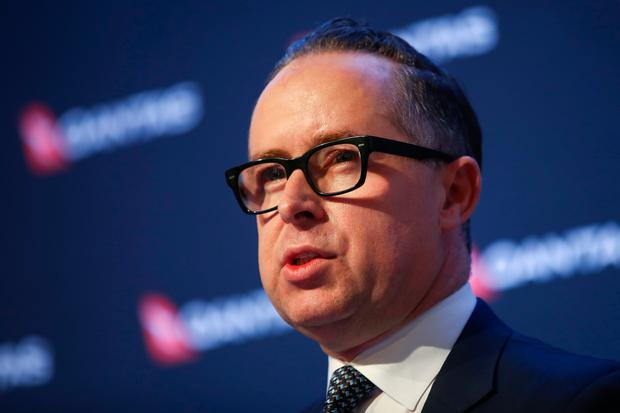 Alan Joyce, chief executive officer of Qantas Airways. Photo: Brendon Thorne/Bloomberg