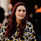 Determined: Independent Group MP Luciana Berger leaves Millbank Studios near the Houses of Parliament in Westminster yesterday. Photo: Getty Images