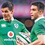 Johnny Sexton and Conor Murray