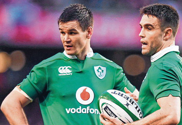 Dynamic duo: Johnny Sexton and Conor Murray have been at the heart of the success over the past few years. Photo: Sportsfile