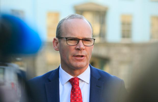 Concerns: Tánaiste and Foreign Minister Simon Coveney