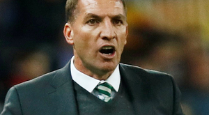 Celtic manager Brendan Rodgers. Photo: Reuters