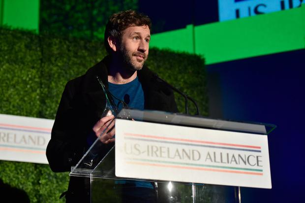 LOS ANGELES, CA - FEBRUARY 21: Chris O'Dowd speaks onstage at Oscar Wilde Awards 2019 on February 21, 2019 in Los Angeles, California. (Photo by Alberto E. Rodriguez/Getty Images for US-Ireland Alliance)