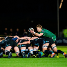 22 February 2019; Kieran Marmion of Connacht during to the Guinness PRO14 Round 16 match between Glasgow Warriors and Connacht at Scotstoun Stadium in Glasgow, Scotland. Photo by Ross Parker/Sportsfile
