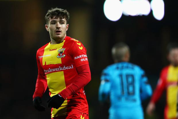 Daniel Crowley during his time with Go Ahead Eagles. Photo: Getty Images