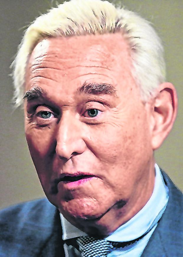 'Dirty trickster': Republican political operative Roger Stone. Photo: Reuters