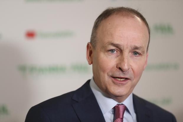 Micheál Martin TD at the 79th Fianna Fáil Ard Fheis, Citywest Hotel, Dublin. Picture Conor McCabe Photography.