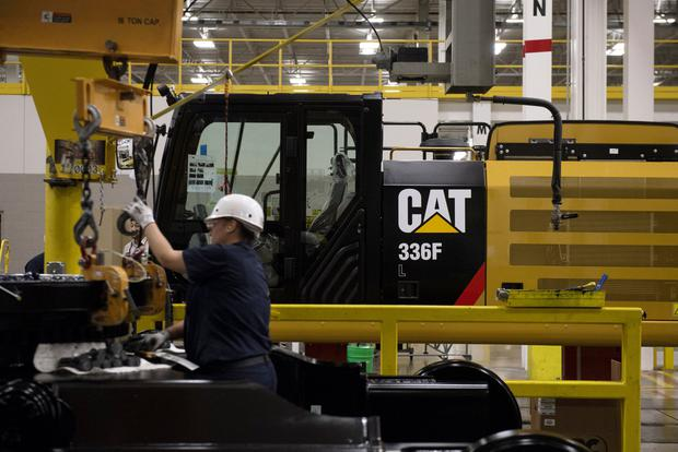 Caterpillar is among US goods that could face retaliatory European Union tariffs. Photo: Bloomberg