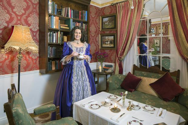 'When the early episodes were on, showing tea in a lovely drawing room, I realised I wanted people to experience the same thing, in the same kind of dress,' says Audrey Whelan. Photo: Tony Gavin