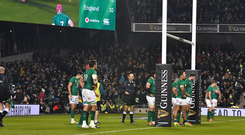 'If Ireland had brought their 'A' game to the Aviva against England and played as well as England did, they would have won.' Photo: Brendan Moran/Sportsfile