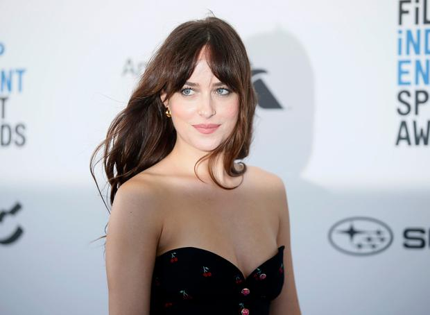 2019 Film Independent Spirit Awards - Arrivals - Santa Monica, California, U.S., February 23, 2019 - Dakota Johnson. REUTERS/Danny Moloshok
