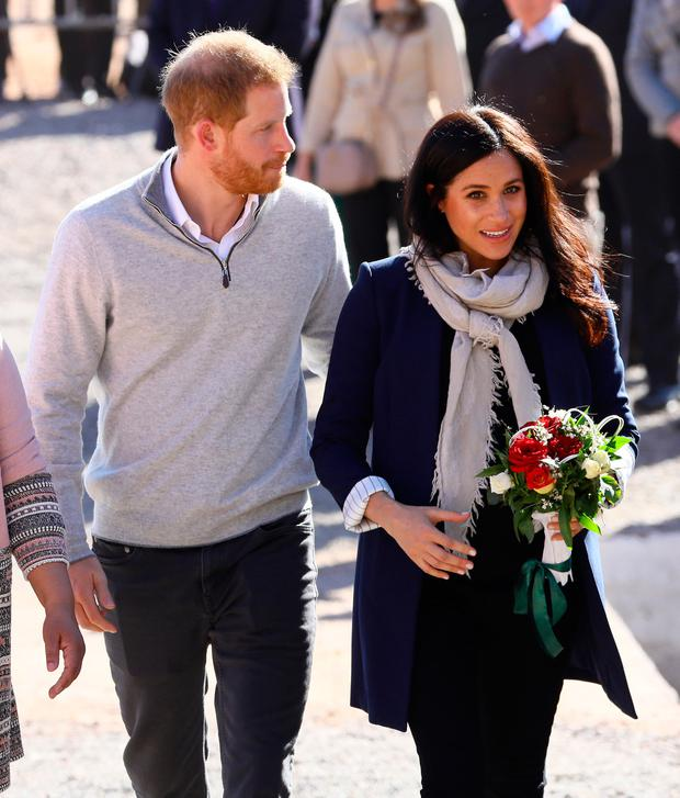 Prince Harry, Duke of Sussex and Meghan, Duchess of Sussex visit the