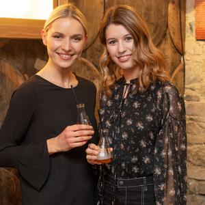 Teodora Sutra & Joanne Northey at the preview of The Dublin Liberties Distillery. Picture: Anthony Woods.