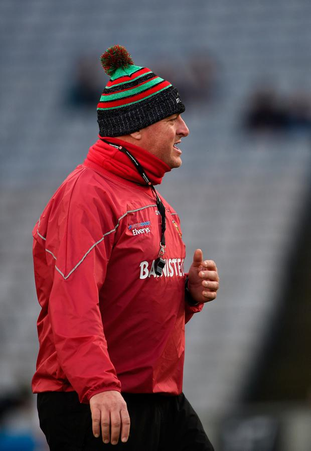 Happy: Peter Leahy. Photo by Daire Brennan/Sportsfile