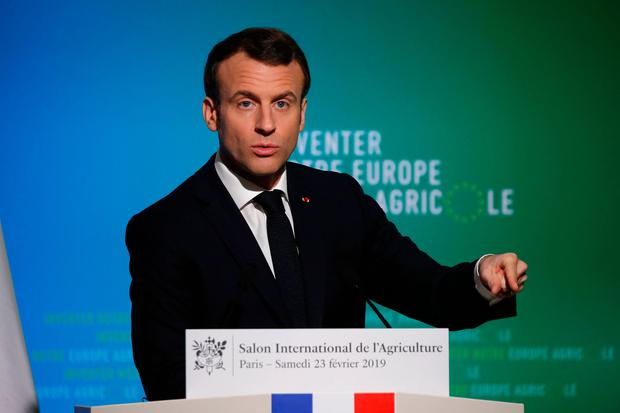 French President Emmanuel Macron. Photo: AFP/Getty Images