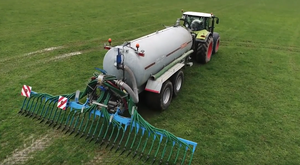 3500 Slurry Tanker with Bomech Trailing Shoe - Cross Agricultural Engineering